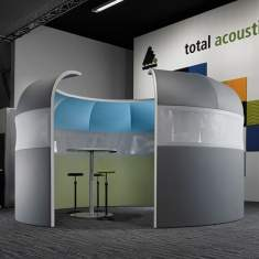 Preform, Akustik Trennwand Formfac® 5 Acoustic - acoustics in motion