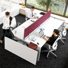 officebase, Steelcase, FrameFour, FrameFour Bench