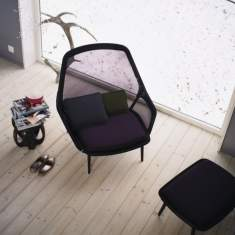 vitra, Slow Chair & Ottoman