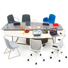 Bigla by Orangebox, Bigla fielding worktables by Orangebox