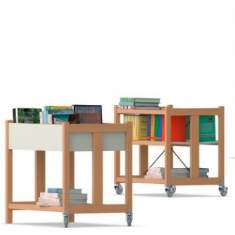 VS, Libro-Wood Bücherwagen