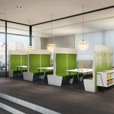 burogestaltung beispiele, ergodata schweiz   living office   officebase.ch, Design ideen