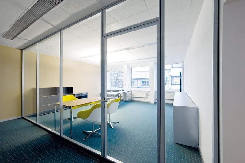 Trewag AG Schweiz   Trennwände   Büro Sichtschutz  