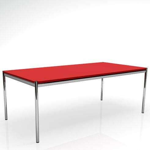 usm haller tisch von usm haller b rom bel b rotische. Black Bedroom Furniture Sets. Home Design Ideas