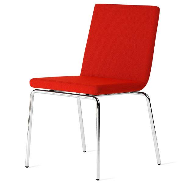 Innovatives Stuhl Design Mit Polsterung Aus Stoffresten
