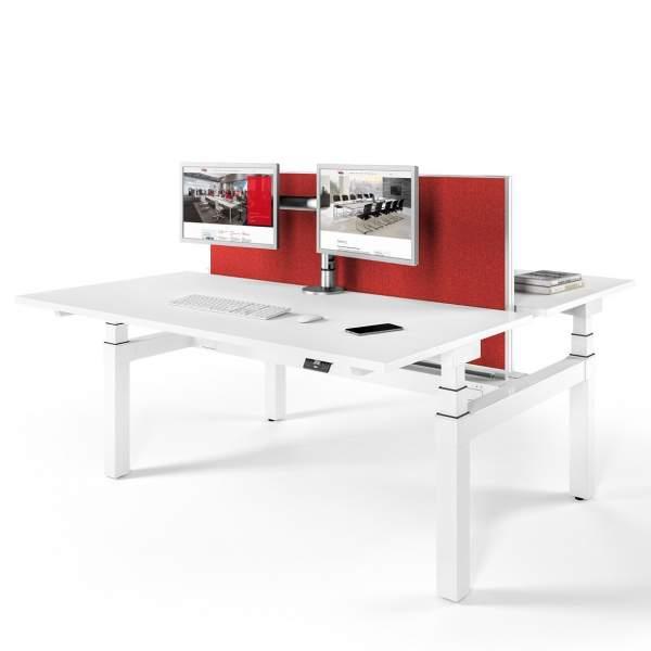 Assmann Büromöbel Schreibtisch Canvaro Compact Team Tische